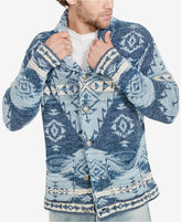 Denim & Supply Ralph Lauren Men's Southwestern-Print Cardigan