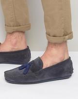 Bobbies Le Gentleman Tassel Suede Loafers