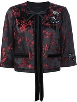 Marc Jacobs Cherry Blossom cropped jacket