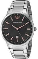 Emporio Armani Men's AR2514 Dress Silver Watch