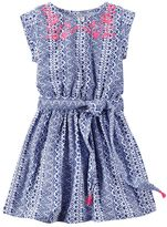 Carter's Girls 4-8 Tribal Embroidered Dress
