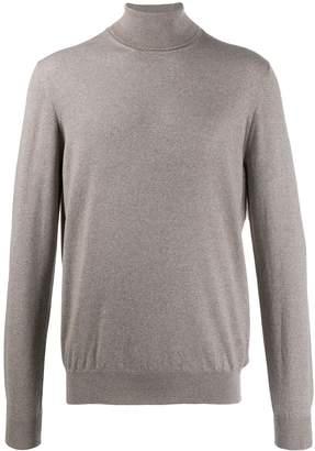 Fay turtleneck long-sleeved jumper
