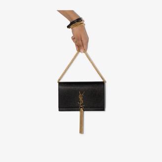 Saint Laurent black Kate small leather shoulder bag