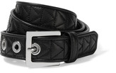 Karl Lagerfeld Quilted leather belt