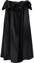 Ellery Impact ruffled silk-satin midi skirt