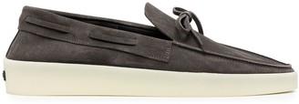 Ermenegildo Zegna x Fear of God bow-detail loafers
