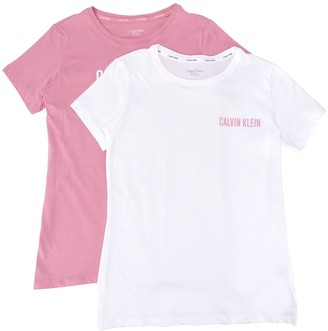 Calvin Klein Kids TEEN two-piece logo lounge T-shirt set