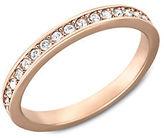 Swarovski Rose Gold and Crystal Rare Ring