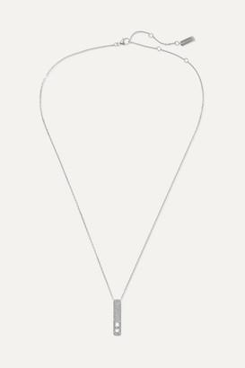 Messika My First Diamond 18-karat White Gold Diamond Necklace