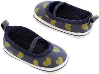 Carter's Girls' Baby Soft Sole Skimmer Sneaker 3-6 Crib Shoe