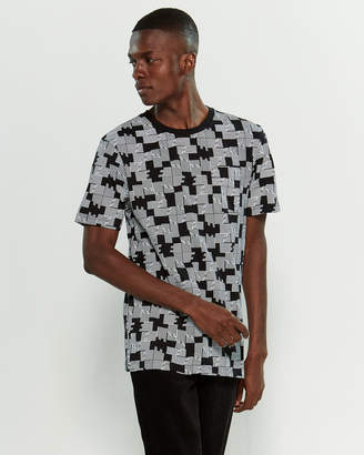 Wesc Maxwell Puzzle Check Short Sleeve Tee