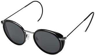 Von Zipper VonZipper Empire (Black Gloss/Grey) Athletic Performance Sport Sunglasses