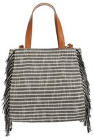 Sole Society Huxlee Canvas Tote - Beige