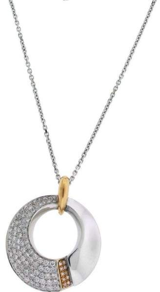Chimento 18K Yellow & Rose Gold Desiderio Pave Diamond Necklace