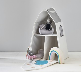 Pottery Barn Kids Unicorn Castle Dollhouse and Accessories