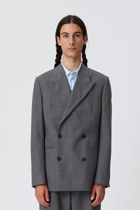 mfpen Double Breasted Jacket Grey - XS