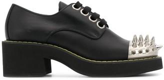 Miu Miu studded toe cap Derby shoes