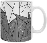 Deny Designs Fimbis Brandy Rays 12 oz. Coffee Mug - Set of 4
