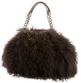 Christian Louboutin Fur Shoulder Bag