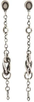 Werkstatt:Munchen twisted link earrings
