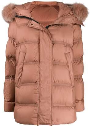 Peuterey fur-trimmed padded jacket