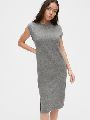 Gap Short Sleeve Midi T-Shirt Dress