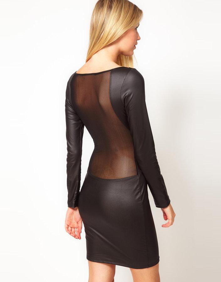 Boulee Long Sleeve Kali Dress With Mesh Back
