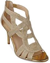 Marc Fisher Nala Mid Heel Evening Sandals Women's Shoes