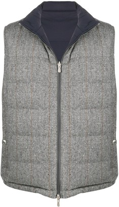 Brunello Cucinelli Reversible Quilted Gilet