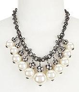 Natasha Accessories Fireball Pearl Necklace
