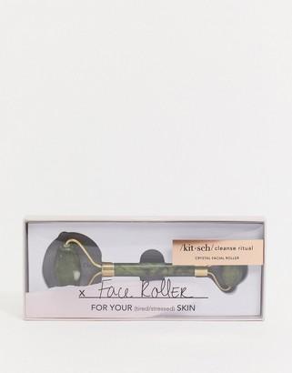 Kitsch Crystal Facial Roller - Jade-No color