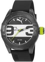Puma Street Analog Men's Wrist Watch, Black