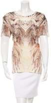 IRO Printed Linen T-Shirt w/ Tags