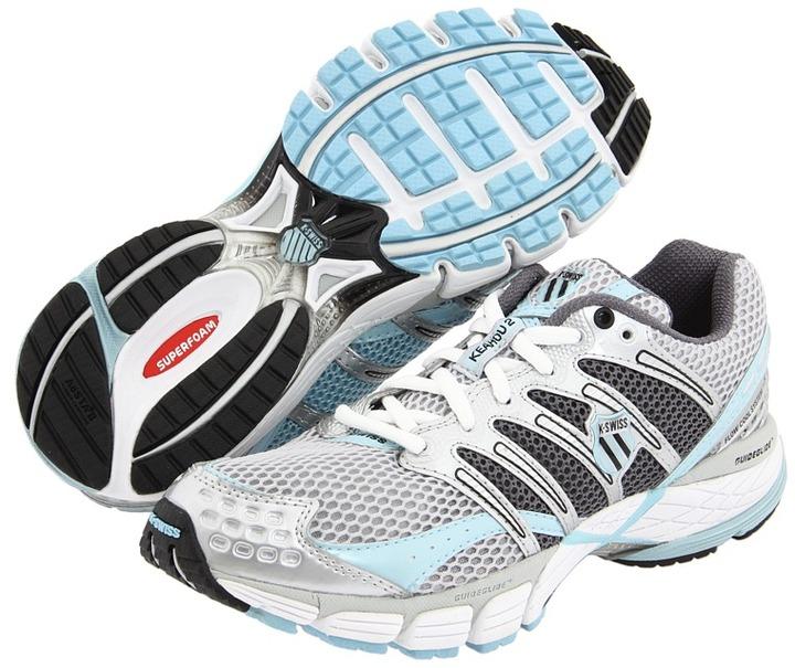 K-Swiss Keahou II (Silver/Black/Aquatic) - Footwear