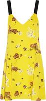 A.L.C. Serena printed silk mini dress