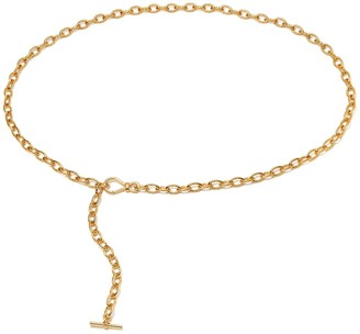 Missoma Limited Gold Oval Chain Belt