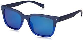 Polaroid Sunglasses Unisex-Adult Pld6044s Polarized Rectangular Sunglasses