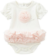 Starting Out Treasures Baby Girls Newborn-6 Months Flower Tutu Bodysuit