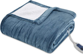 Simmons True North by Sleep Philosophy Ultra Soft Reversible Berber/Plush Electric Full Blanket with Bonus Automatic Timer Bedding