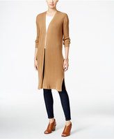 Style&Co. Style & Co Ribbed Duster Cardigan, Only at Macy's