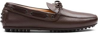 Car Shoe Grained Driving Shoes