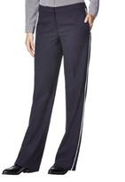 HUGO BOSS Womens Crepe Striped Tuxedo Pant