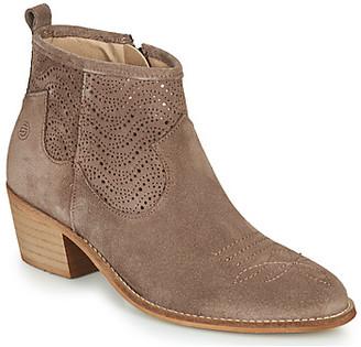 Betty London MARILENE women's Low Ankle Boots in Grey