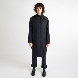 Kate Sheridan Black Louis Coat - S/M