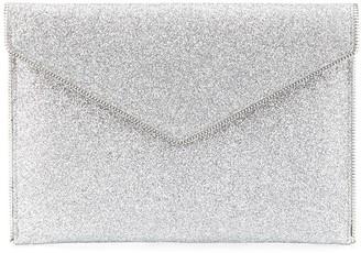 Rebecca Minkoff Leo glitter clutch bag