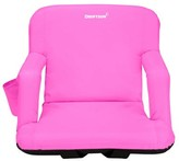 Reclining Stadium Seat with Cushion Driftsun Color: Pink