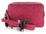 Anya Hindmarch The Double Stack Crinkled Leather Clutch - Pink