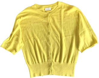 American Vintage Yellow Cotton Knitwear for Women