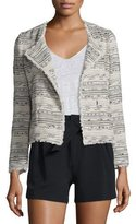 Joie Nicols Multicolored Tweed Jacket