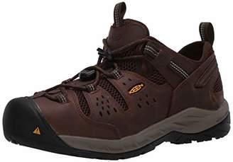 Keen Men's Atlanta Cool II Low Soft Toe ESD Non Slip Work Shoe Construction